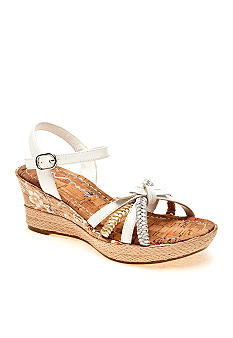 Nina Alexie Wedge Girl Sizes 13-5