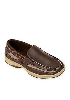 Deer Stags Pal Slip-on Boat Shoe - Toddler/Boy Sizes 8-7