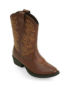 Deer Stags Ranch Cowboy Boot - Kids Youth Sizes 1 - 7