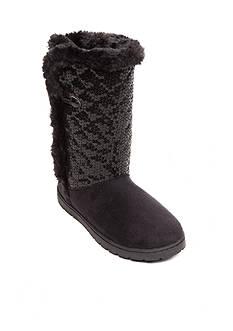 Rampage Tillie Sequin Fleece Boots