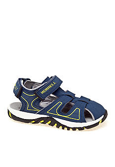 Merrell Spinster Deck Sandals Boy Sizes 10-5