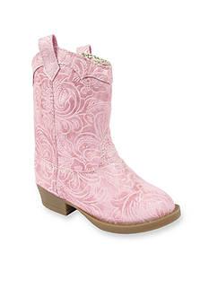 Natural Steps Stampede Boot - Girl Infant/Toddler Sizes 2 - 12