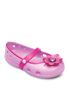 Crocs Keeley Flat Girl Sizes 7-6