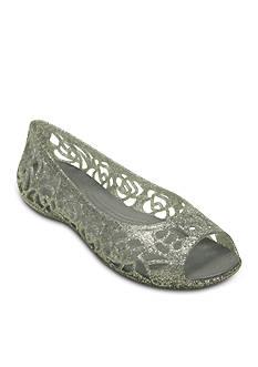 Crocs Isabella Glitter Flat