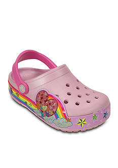 CrocsLights Rainbow Heart Clog