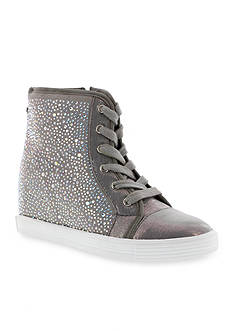 Stuart Weitzman Vance Jewel Hidden Wedge Sneakers
