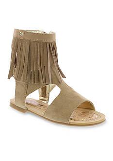 Stuart Weitzman Camia Fringe Sandals - Youth Sizes
