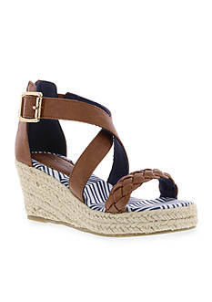 Tommy Hilfiger Anastasia Braid Wedge Sandal - Girl Toddler/Youth