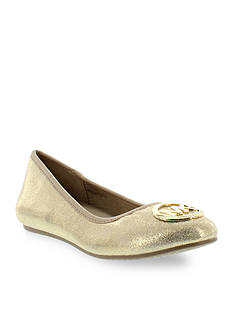 MICHAEL Michael Kors Faye Ria Ballet Flat - Youth Sizes