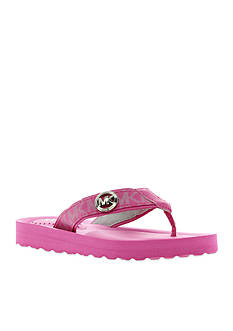 MICHAEL Michael Kors Gage Flip Flop - Girl Youth
