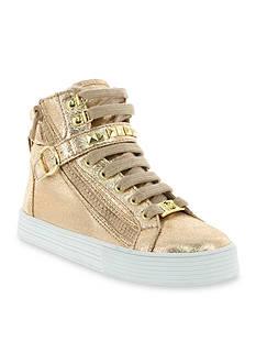 MICHAEL Michael Kors Ivy Shine Sneaker - Girl Infant/Youth/Toddler 7 - 6