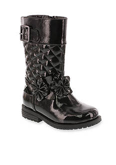 Flowers by Zoe Perry Quilted Flower Boot - Girl Infant/Toddler 2.5 - 12