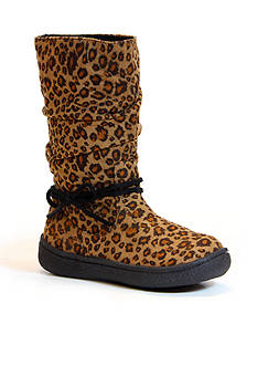 Western Chief Mila Girls Leopard Microfiber Boot - Toddler/Youth Sizes