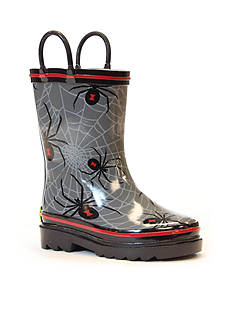Western Chief Spider Web Crawl Rain Boot- Infant/Toddler/Youth Sizes