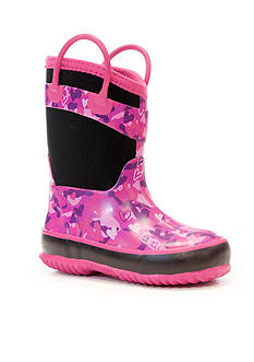 Western Chief Heart Camo Neoprene Rain Boot - Toddler/Youth Sizes