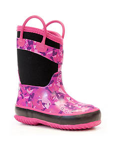 Western Chief Heart Camo Neoprene Rain Boot - Toddler/Youth Sizes