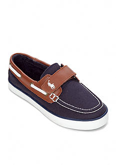 Polo Ralph Lauren Sander EZ Boat Shoe - Toddler/Youth Boy Sizes 10.5-3