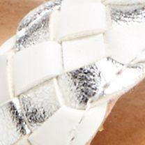 Toddler Girl Sandals: White Hanna Andersson Helga Sandal