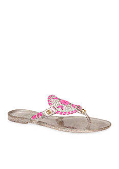 Jack Rogers Miss Sparkle Georgica Jelly Sandal
