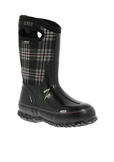 Bogs Classic Winter Plaid Boot - Girl Infant/Toddler/Youth Sizes 7 - 6 - Online Only