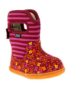 Bogs Flower Stripe Boot - Infant/Toddler Sizes 4 - 10 - Online Only