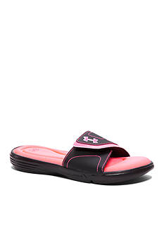 Under Armour Girls Ignite VII Slide Sandal