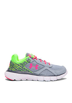 Under Armour Girls Velocity Graphic Athletic Shoe - Toddler And Youth Sizes