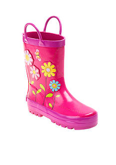 Laura Ashley Garden Flower Rainboot - Toddler/Youth