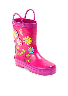 Laura Ashley Garden Flower Rainboot - Youth