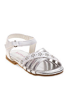 Laura Ashley Metallic Sandal - Toddler