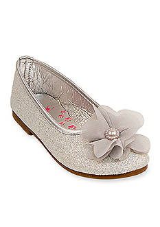 Rugged Bear Glitter Flower Flat - Youth