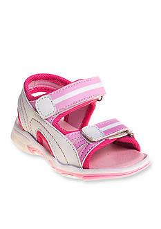 Rugged Bear Girls Velcro® Sport Sandal - Toddler/Youth
