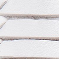 Toddler Girl Dress Shoes: White Rugged Bear Strap Sandal- Toddler Sizes