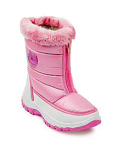 Rugged Bear Snow Boot with Zipper - Youth