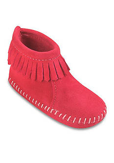 Minnetonka Back Flap Bootie