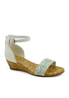 BareTraps Chase Low Wedge Sandal-Youth