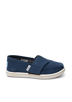 TOMS Classics Navy Slip On - Infant/Toddler Sizes