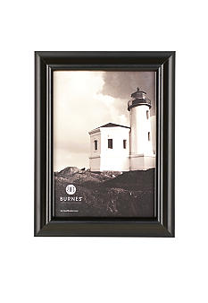 Burnes of Boston Domed Wood Black 4x6 Frame
