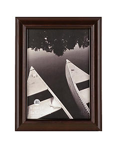 Burnes of Boston Domed Wood Coffee Bean 5x7 Frame