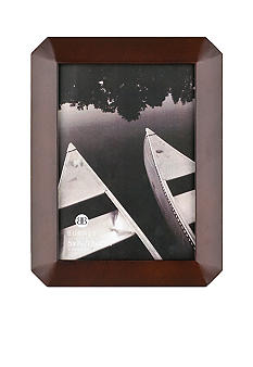 Burnes of Boston Octagon Wood Coffee Bean 5x7 Frame