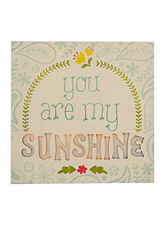 New View You are My Sunshine Canvas Light Up Marquee