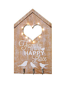 New View Family is my Happy Place String Light Birdhouse