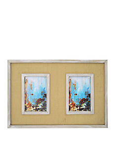 New View Burlap Double 4x6 Frame
