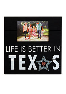New View Life is Better in Texas 6x4 Frame