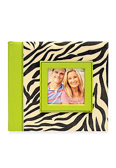New View Zebra 2-up 4x6 Photo Album