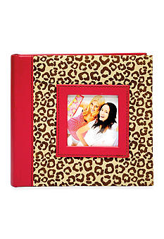 New View Leopard 2-up 4x6 Photo Album