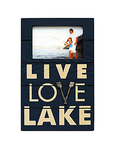 New View Live Love Lake Frame