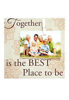 New View Together Canvas Clips 4x6 Frame