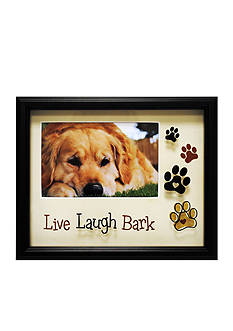 New View Live Laugh Bark 4x6 Frame