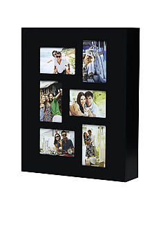 Melannco Black Photo 4x6 Jewelry Cabinet